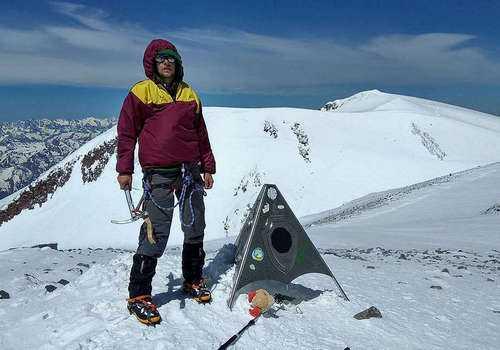 На восточной вершине Эльбруса