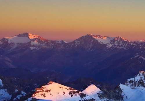 Рассвет в Андах