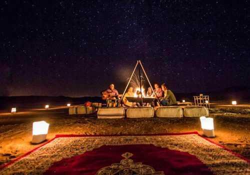 Ночь в пустыне